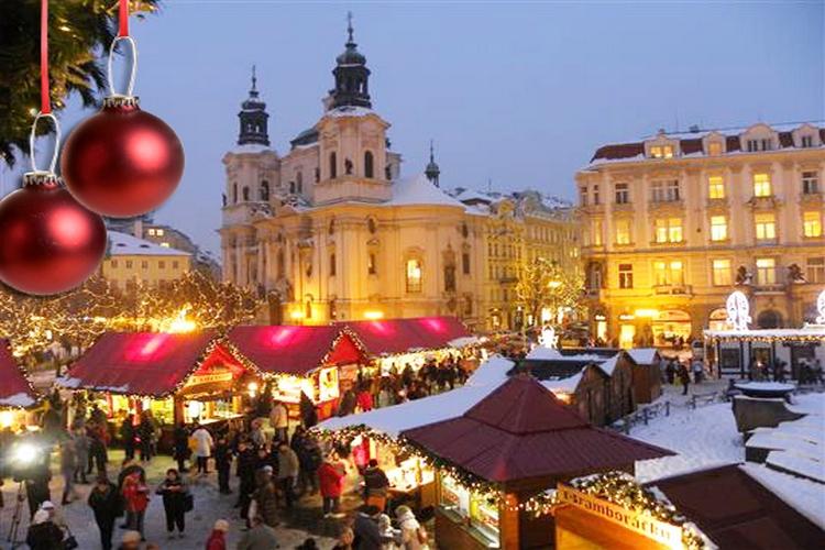 Новый год в Праге от 25000/чел